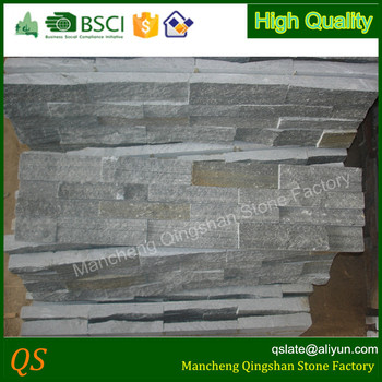 Natural Grey Slate Stone Wall Cladding Panels - Buy Stone Panels ...
