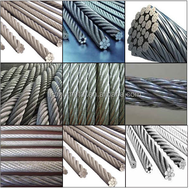 High Quality Galvanized Steel Wire Rope Ungalvanized Steel Wire Rope