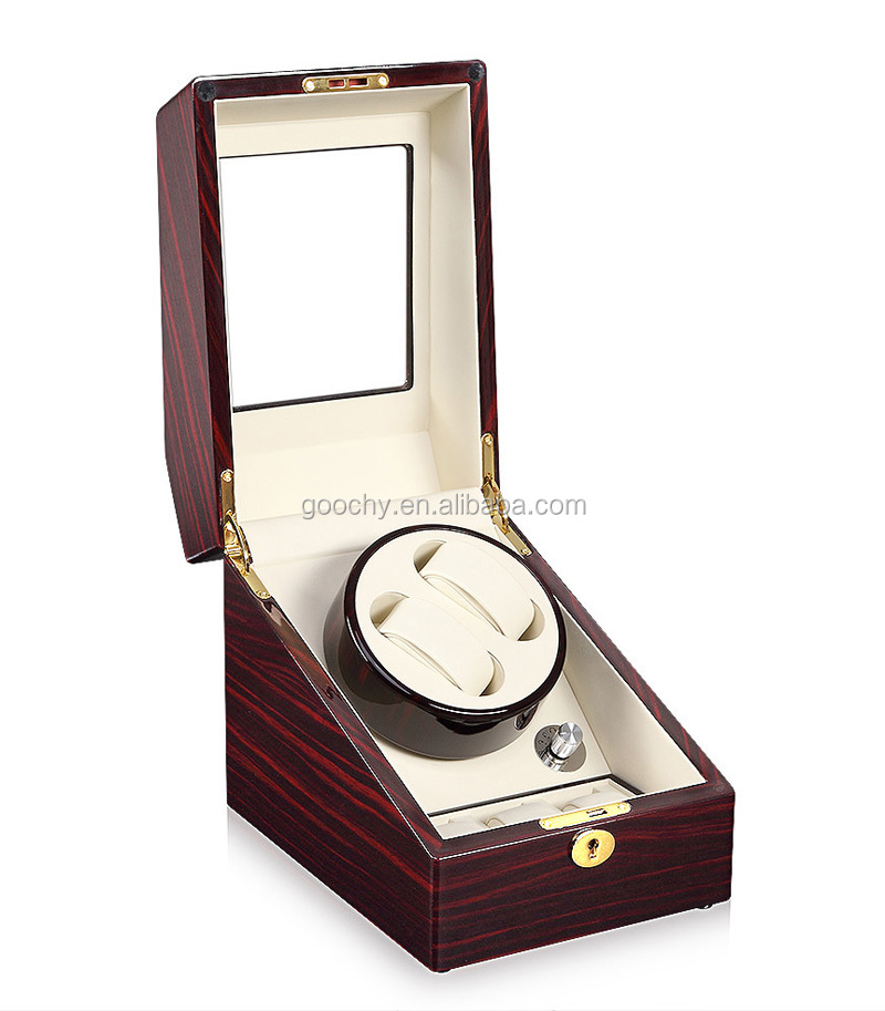 automatic watch winding box watch winder for mechanical watches gc03s24ew - Automatic Watch Winder