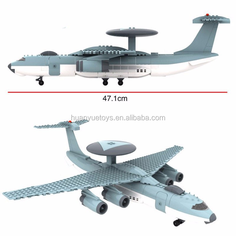 Wange model building kits compatible with city plane 1051 3D blocks Educational model building toys hobbies for children