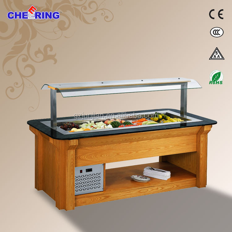 Used Restaurant Equipment For Sale/ Salad Bar/commercial