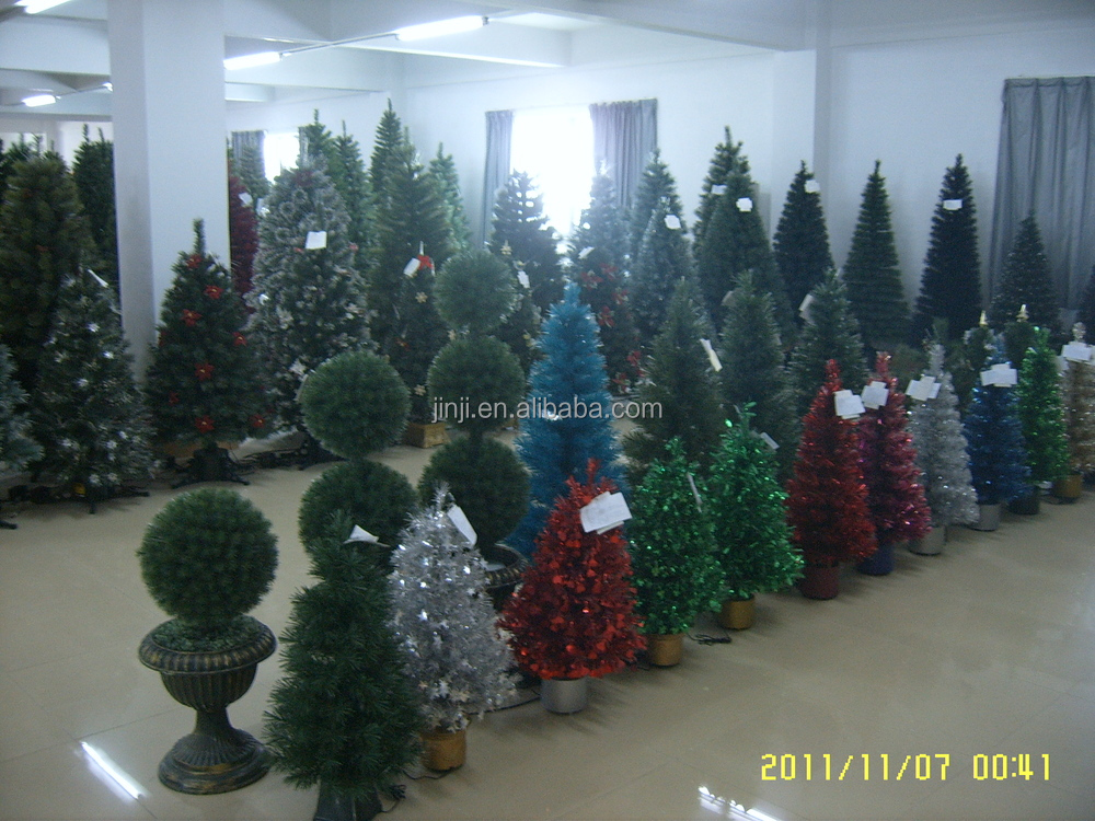 Made In China Wholesale 7ft Fiber Optic Christmas Tree