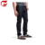 Merk man stretch denim Zelfkant jeans broek