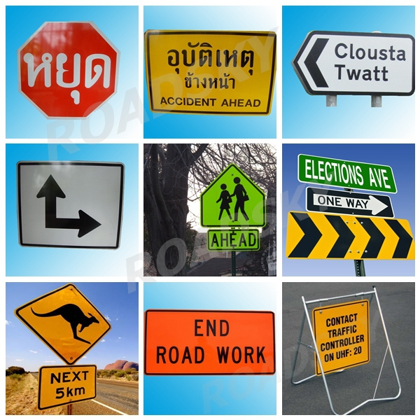 Hot Sale Aluminum Slow Down Warning Road Symbols And Meanings Buy