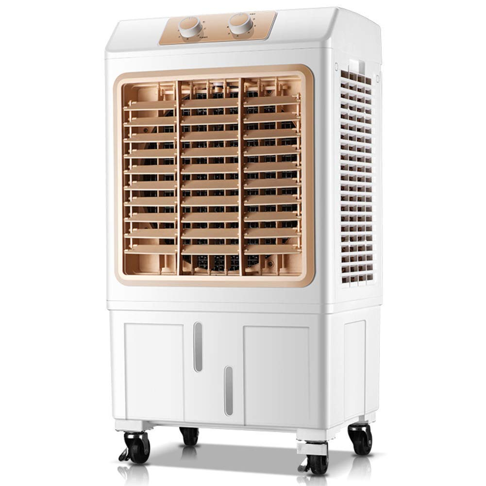 LIUSHIJITUAN Household Plastic Air Conditioner Fan, Single-Cold Cold Fan Office Evaporative Coolers Air Cooler-A 80x43x33cm(31x17x13)