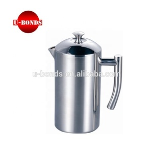 Steel Plunger Silver Press Stainless Espresso French Coffee oxerCWdB