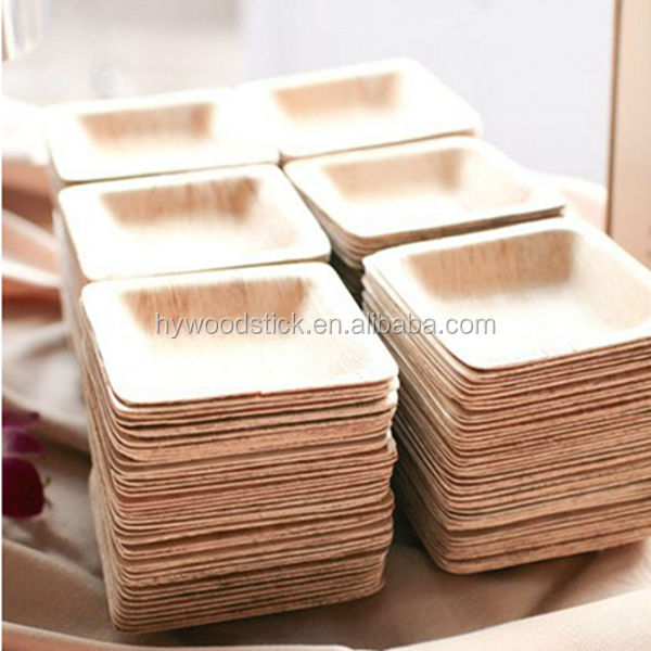 Wholesales Healthy Polished Disposable Wooden Party Plates Dishes View Wooden Dishes Hywd Product Details From Wuhan Huiyou Wood Products Co Ltd