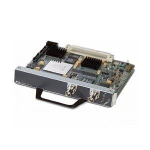 "Cisco, 2-Port Multichannel Enhanced Capability Port Adapter Expansion Module Hdlc, Frame Relay, Ppp, Mlppp, Frf.12 2 Ports T-3 Refurbished For Cisco, 7201, 7204, 7206, 7206Vxr, 7301, 7301 Vam2+ ""Product Category: Computer Components/Controller Cards"""