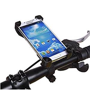 Trenztek Universal iPhone 7 Plus 6 Plus Bike Mount Holder Bicycle Cellphone Cradle for iPhone 7 Google Pixel Pixel XL Samsung S6 Edge S7 Edge Note 5 Moto Z Cycle Mount