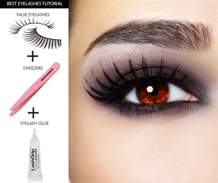 Natural Fake Eye Lashes Professional Makeup Tips Bigeye Long False