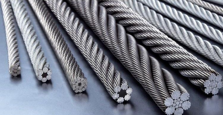 galvanized winding steel wire rope 5mm to 15mm for conveyor belt