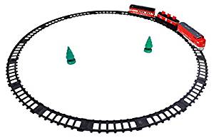 Little Treasures Rapid Train Toy Set, Good Quality with Tracks and a Passenger Cart with a Tanker