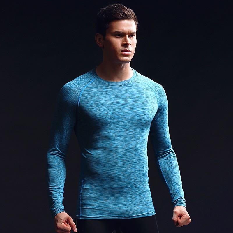 China Factory Men's Clothing Gym Sport Wear Tight Men's T Shirts Custom Men's T Shirts 5