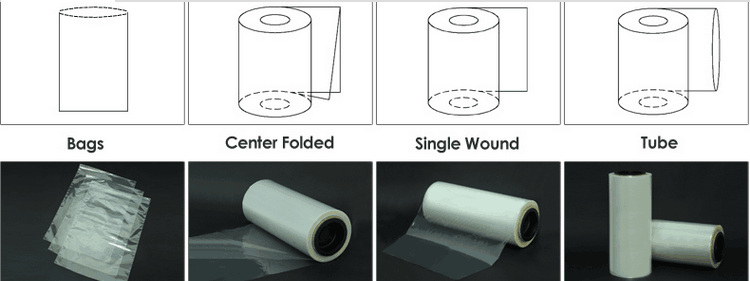 Warmte Krimpen PVC Film Roll Plastic Film Roll