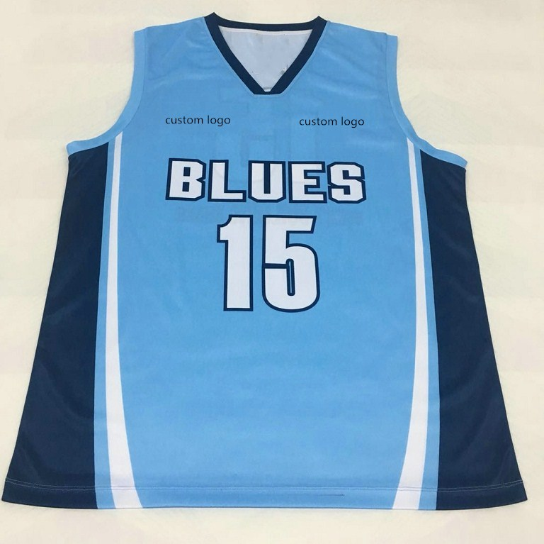 edcba37de16 China Blue Basketball Jersey Design, China Blue Basketball Jersey Design  Manufacturers and Suppliers on Alibaba.com