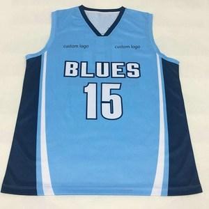 3aa0f1fff1b Basketball Jersey Sky Blue