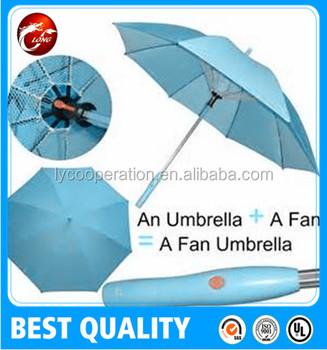 Solar Umbrella Fan Outdoor