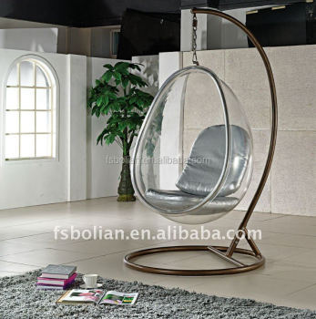 Superb Acrylic Hanging Bubble Chair