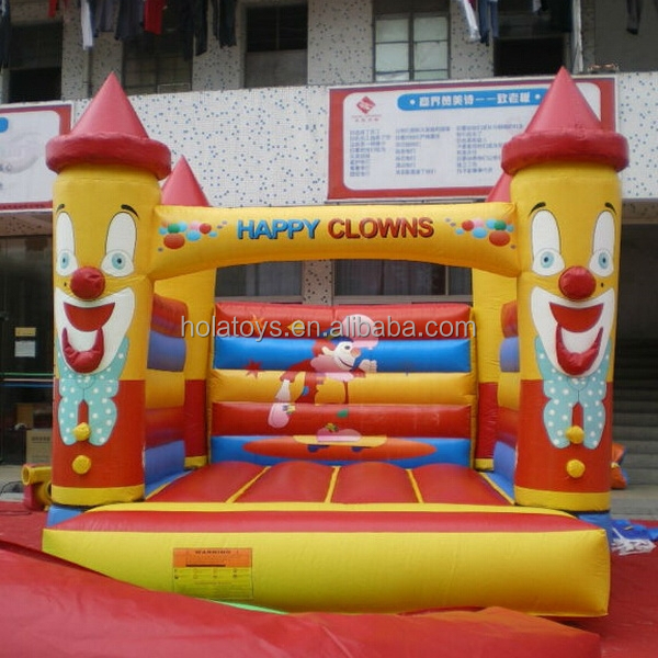 Hola happy clowns inflatable bouncer/bouncer inflatables for sale