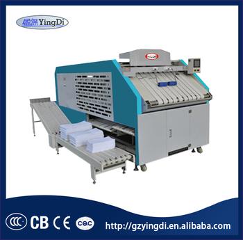 Guangzhou Hotel Towel,bed Sheet Automatic Laundry Folding Machine,industrial  Laundry Machine
