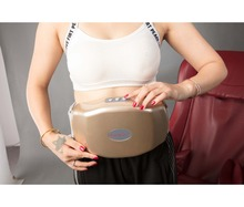 Vibration Shiatsu and Heat Body Fat Burning Slimming Massage Belt