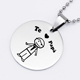 Men's Fashion Necklace Jewelry Beads Chain Necklace for Dad Factory Price
