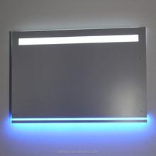tipo de funcin de iluminacin sin marco bao montado en la pared espejos de bao espejo