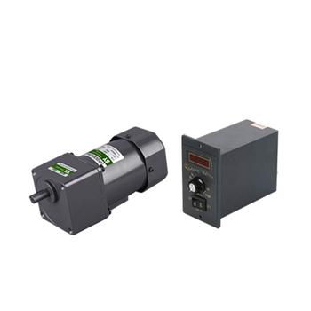 110v 220v 90w speed controller ac induction gear motor for Ac induction motor controller