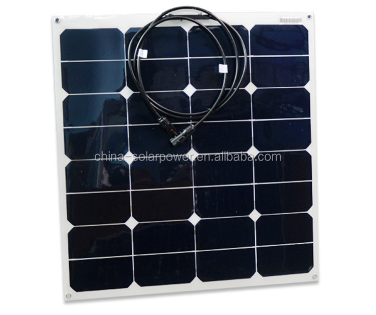Custom Size Factory Firect Price Flexible Solar Panel For