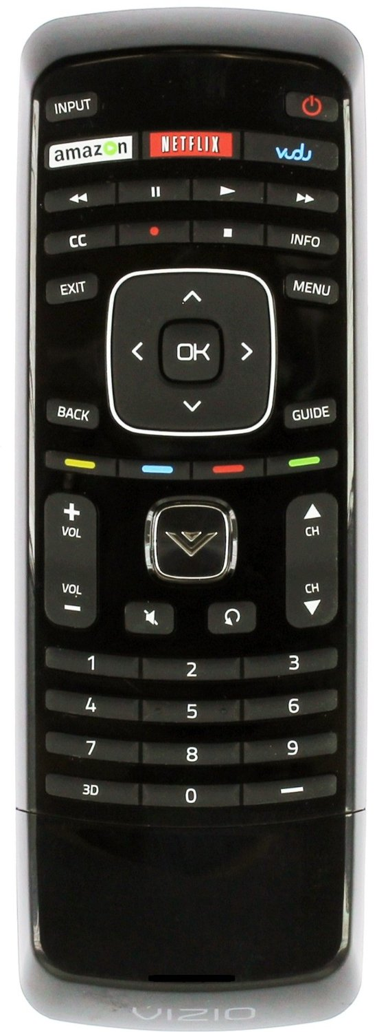New Xrv1tv 3d Tv Remote Control with Keyboard fit for vizio smart internet LCD LED TV