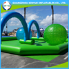 Durable using inflatable zorb ball track for adult