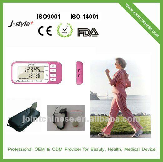 3D Multi-function Calorie Calculation Pocket dynamo Pdometer