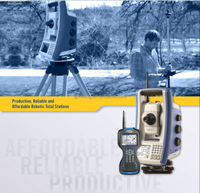 SP Focus 35 with 2'' accuracy trimble Robotic Total station