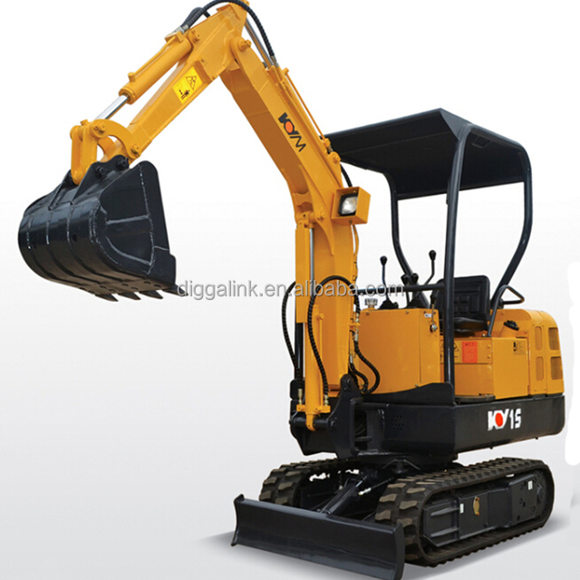 The cheap Chinese small machine excavator for sale