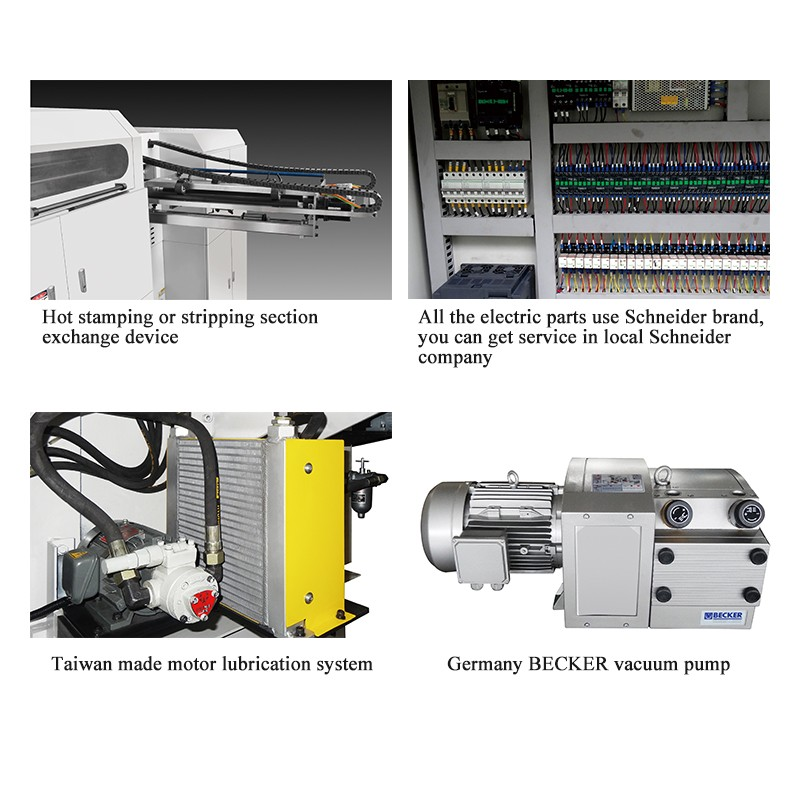 MHK-1050 Automatic hot foil stamping machine