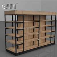 Smart commercial shoe store cabinet custom design retail shoes display rack