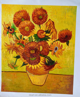 Sunflower oil painting by artist vincent van gogh stock sales painting