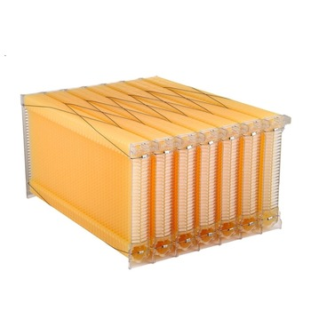 Beehive frame automatic honey flow bee hive with 7 frames