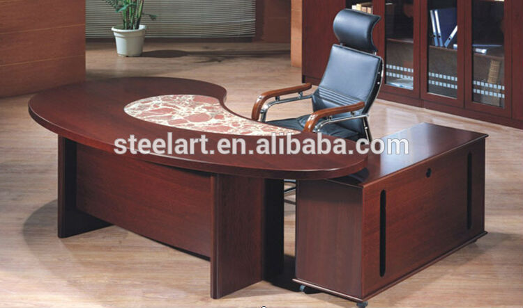 Office furniture latest wooden executive office table for Latest design office furniture