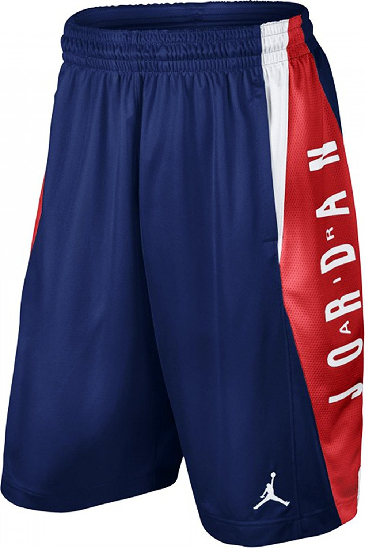 ad086cccb0157 Get Quotations · Nike Jordan Takeover Basketball Short Mens Navy Red  724831-455