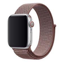 Нейлоновый ремешок для часов Apple watch 42 мм 38 мм iwatch 4 3 2 Ремешки для наручных часов адаптер 44 мм 40 мм Плетеный спортивный ремешок(Китай)