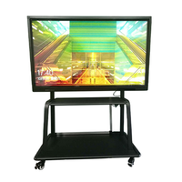 hd full color led display Smart Touch Screen Portable Interactive Whiteboard All in One PC For School Teaching/Net meeting