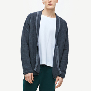 Stytlish Pocket Cardigan Cotton Custom Knit Sweater Men