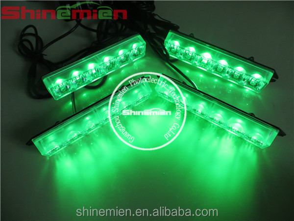 24 Watts 24 Led Car Strobe Grille Lights,Emergency Vehicle Strobe ...
