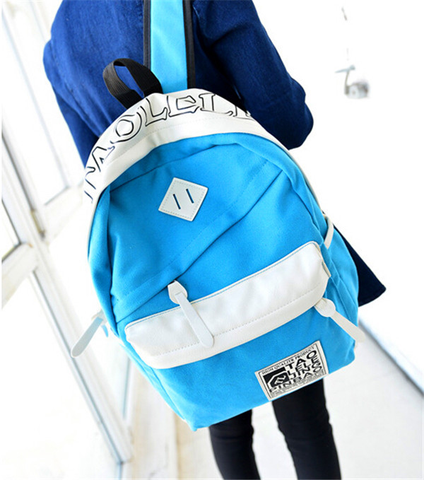 Cute school bags for teens padded backpack shoulder straps