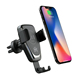 2 in 1 automatic gravity Qi certified fast wireless car mount charger