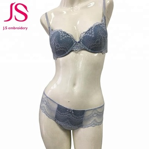 Stylish sexy lace bra panty your design
