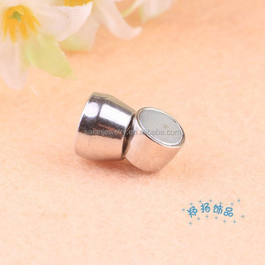 5mm round hole magnetic clasp fashion accessories nickel free lead free