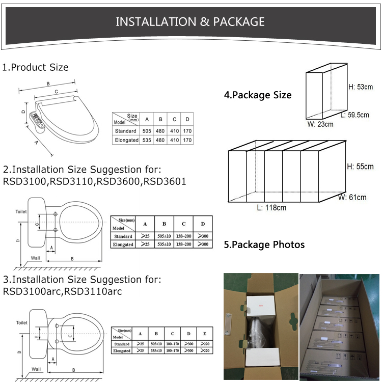 Installation &Package
