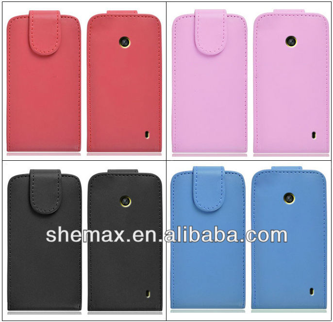 New Products Leather Flip Case For Nokia Asha 501 201 303 210,Flip ...